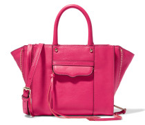 Mab Mini Leather Tote Fuchsia