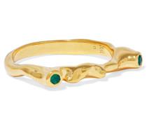 Siren Skinny Gold-tone Ring