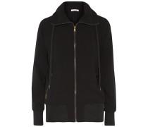 Jersey Hooded Top Schwarz