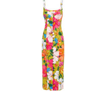 Angelica Floral-print Tencel-blend Midi Dress