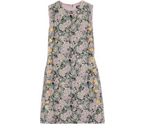 Jacquard Mini Dress Mehrfarbig