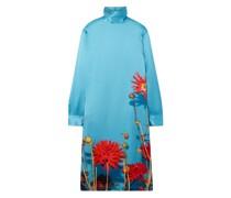 Dontisy Floral-print Satin Dress