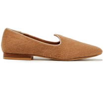 + Le Monde Beryl Venetian Loafers mit Nadelstreifen