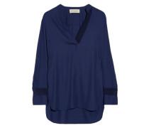 Gulana stretch-crepe blouse