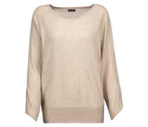 Stretch-knit Sweater Ecru