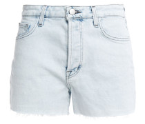 Gracie Frayed Bleached Denim Shorts