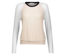 Hiro color-block modal-blend sweater