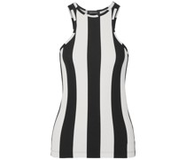 Striped Ribbed Jersey Tank