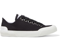 Cotton-canvas Sneakers