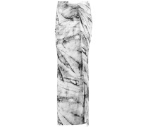 Wrap-effect Printed Stretch-jersey Maxi Skirt Stein