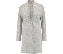 Alpaca-blend Coat Grau