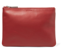 Textured-leather Pouch Rot