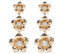-plated Crystal Earrings