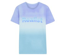 + Peter Saville Printed Dégradé Cotton-jersey T-shirt