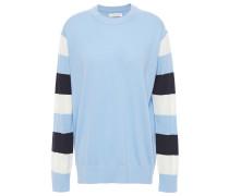 Color-block Cashmere Sweater