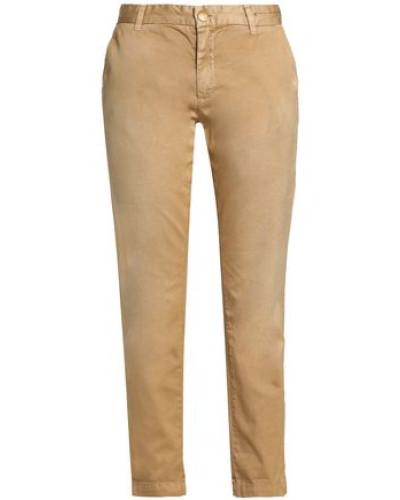 Cotton-twill Straight-leg Pants Sand  6