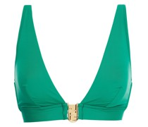 Triangel-bikini-oberteil mit Verzierung