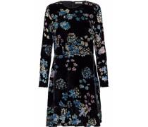 Steffy burnout velvet mini dress