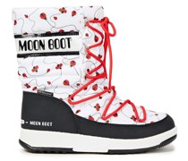 Printed Shell Snow Boots