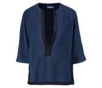 Rhea Cotton-terry Coverup Rauchblau