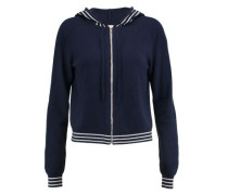 Icaria wool and cashmere-blend hooded cardigan