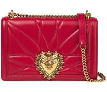 Devotion Embellished Quilted Leather Shoulder Bag