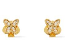 farbene Ohrringe mit Kristallen