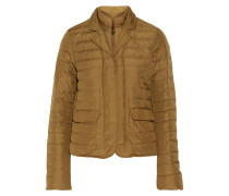 Egina Quilted Shell Down Jacket Champignon