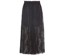 Pleated Lace Culottes