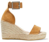 Senna Suede Espadrille Wedge Sandals
