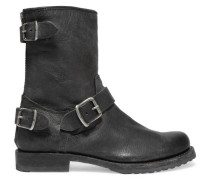 Veronica Leather Ankle Boots Schwarz