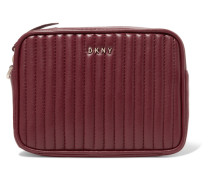 Gansevoort Quilted Leather Clutch Bordeaux
