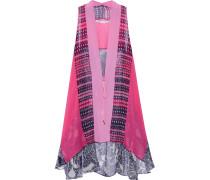 Lipari Floral-print Silk-chiffon Vest Mehrfarbig