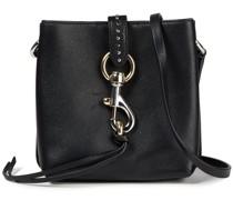 Megan Mini-schultertasche aus Strukturiertem Leder