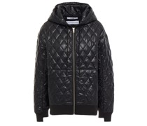 Quilted Shell Hooded Jacket
