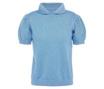 Clement Metallic Merino Wool-blend Top