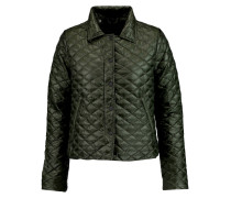 Anfinolea Quilted Shell Down Coat Armeegrün