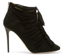 Myra tasseled suede ankle boots