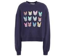 Alexis Bedrucktes Sweatshirt aus Baumwollfrottee