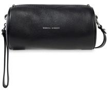 Barrel Pebbled-leather Shoulder Bag