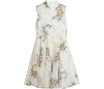 Hambledon floral-print silk-georgette dress