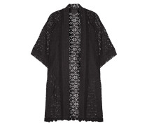 Lace Kimono Jacket Schwarz