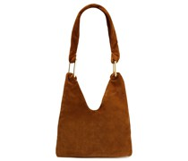 Ava Suede Shoulder Bag