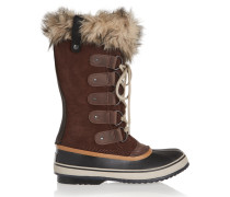 Joan Of Arctic Waterproof Suede And Leather Boots Braun