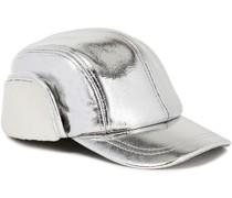 Pilot Metallic Shearling Baseball Cap
