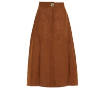 Masala Linen Midi Skirt