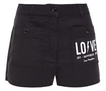 Bedruckte Shorts aus Twill aus Einer Baumwollmischung