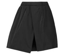 Shirley Duchesse-satin Mini Skirt Schwarz