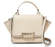 Eartha Iconic Mini Leather Shoulder Bag Creme