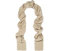 Genava ribbed-knit scarf